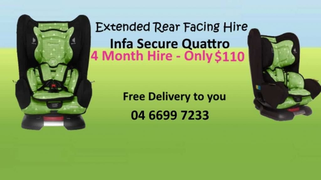 extended rear facing by infa secure